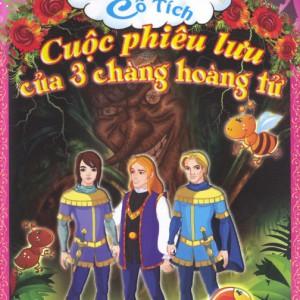cd kể chuyện cổ tích 33 - cuộc phiêu lưu của 3 chàng hoàng tử